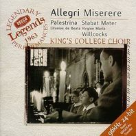 Cambridge-The-Choir-of-King-s-College-Allegri-Miserere-Pale
