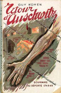 couverture retour d'auschwitz