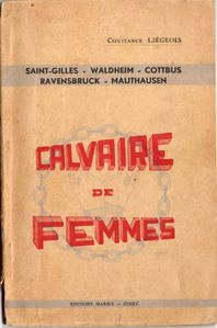 Couverture calvaires de femmes.