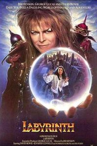 bowie labyrinth jim henson movie poster