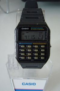 casio watch calculator ca 55 japan vintage le blog de. Black Bedroom Furniture Sets. Home Design Ideas