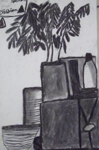 6e ma nature morte les arts plastiques au college - Picasso nature morte a la chaise cannee ...