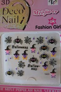 Stickers pour Ongles d'Halloween