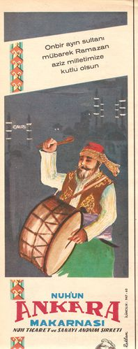 Ankara Makarnası Etiketi.