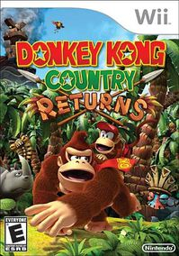 Donkey Kong Country Returns jaquette