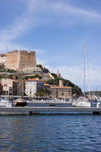 Corse bonifacio port citadelle