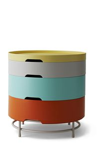 IKEA PS 2014 table rangement multicolore PE412781