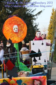 Carnaval Donchery 2013 Alice aux pays des Merveilles Flo Megardon20