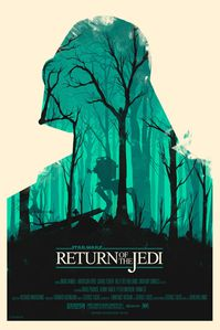 Olly Moss - Return of Jedi