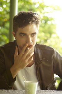 Robert Pattinson TV week photoshoot outtake 1