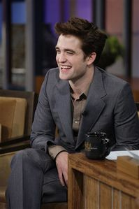 Robert Pattinson - Jay Leno Show 1