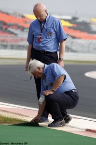 Mercedes GP - Charlie Whiting