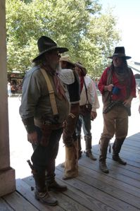 Sacramento, CA (Old Town, Gold Rush events) - 57