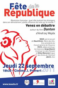 Fete Republique Affiche 2011