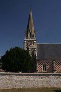 Berville, église