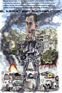 Bachar el Assad Terminator