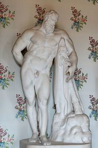 Hercules Farnese Maniglier collection adolphe thiers- louvr