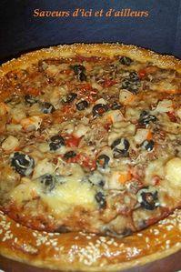 Pizza feuilletée