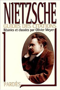 Guide des citations Nietzsche