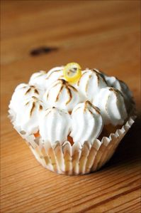 8 - Patisserie chocolat and co - Cupcake citron meringue