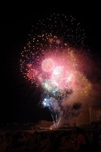 feu artifice biarritz