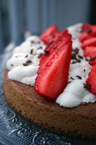 Sablé breton mascarpone fraises