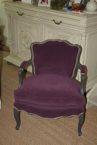 le fauteuil cabriolet louis xv caroline krug tapissier paris yvelines. Black Bedroom Furniture Sets. Home Design Ideas