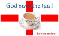Logo mois anglais thé