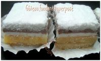 Gateau fondant superposé photo 5