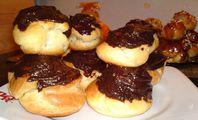 Choux - chocolat praliné ganache chocolat