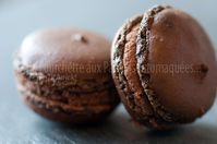 Macarons chocolat amer eclats sel 03