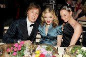 Madonna, Rihanna and Paul McCartney at Anna Wintour's party