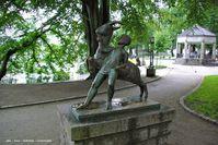 Stavanger-statue-kiosque gourmand