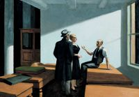 hopper Conference at night 1949 redim