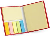 notes adhesives et marque page autocollant