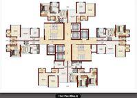 Rajeah white city kandivali floor plan