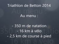 Triathlon Betton