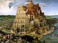 Pierre Bruegel tower of babel la tour