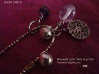 bracelet améthiste 1
