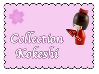 collection kokeshi