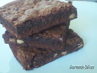 Brownie aux noix de pcan
