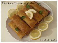 Bourek aux Crevettes et au Thon