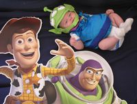 colin, buzz et woody