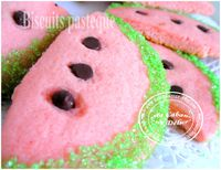 Biscuits pasteque 003