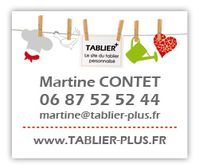 Martine tablier