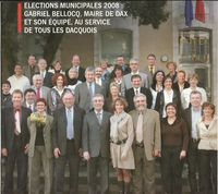 Election municipale Dax 2008