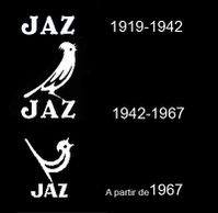 logo jazz a travers le temps