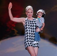 Gwen Stefani et son fils Kingston
