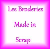 broderies made in scrap