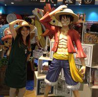 Hello Japan - 麦わらストア Girl & Luffy